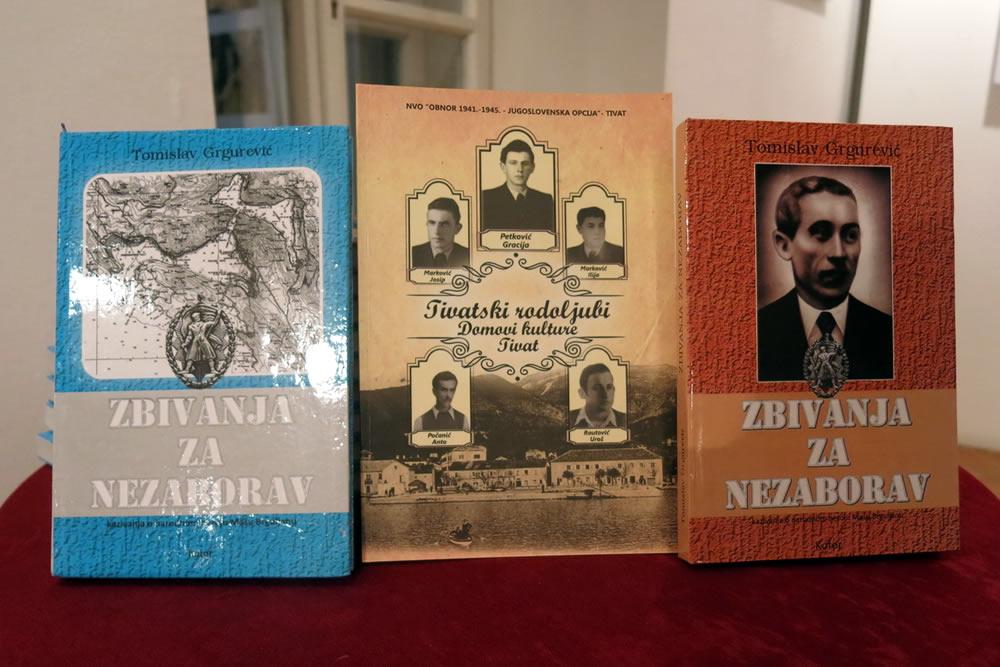 """Predstavljena knjiga - """"Tivatski rodoljubi - Domovi kulture Tivat"""""""