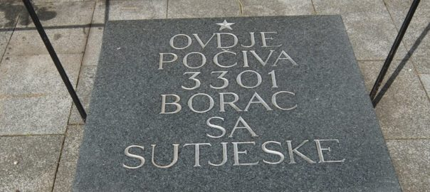 Obilježavanje bitke na Sutjesci 2017 - OBNOR Kotor