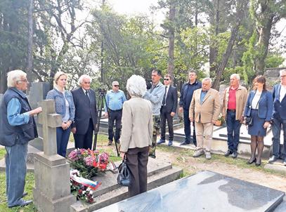 Odata počast narodnim herojima Milanu Spasiću i Sergeju Mašari