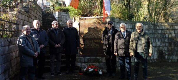 76. godišnjica od pogibije narodnih heroja Nikole Đurkovića, Sava Ilića, prvoboraca Daša Pavičića i Stijepa Šarenca