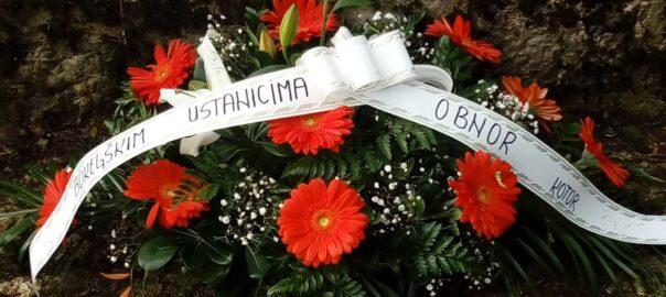 Posjeta spomeniku učesnicima Krivošijskog ustanka