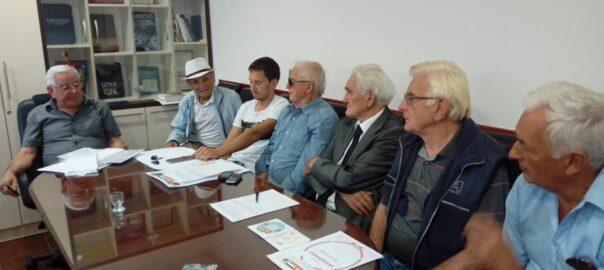 Sjednica organizacionog odbora i poziv za dostavljanje podataka o borcima Bokeljske brigade